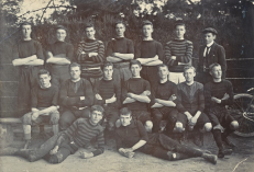 5. Ashburton High School Old Boys Football Team 1902